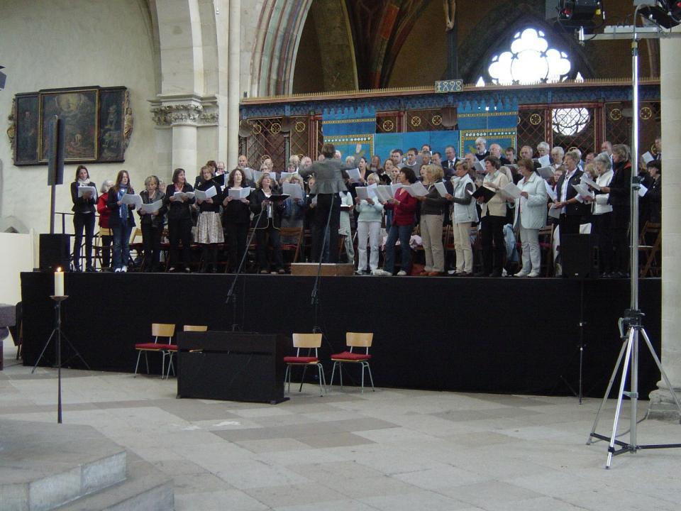 Chorfahrt nach Magdeburg 2009